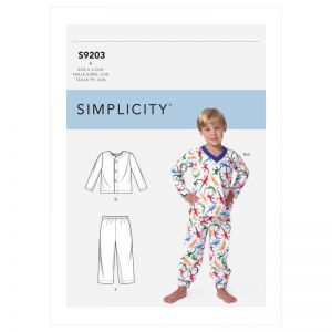 Simplicity Sewing Pattern Tops, Shorts and Pants  3-8