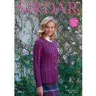 Sirdar No 1 Cardigan Pattern  8046