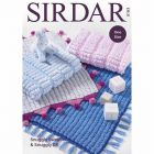 Sirdar Snuggly Sweetie and Snuggly DK Blankets Pattern 5193 One Size