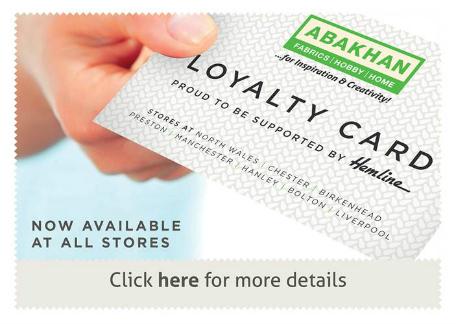 Abakhan Loyalty Card 2016