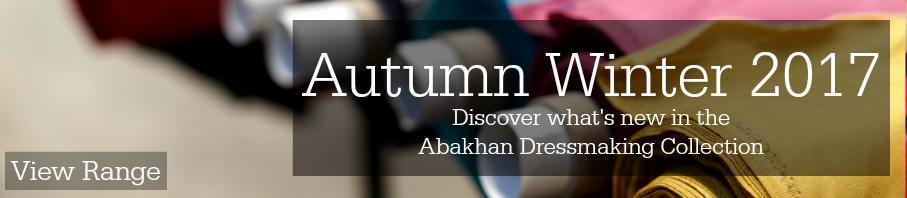 Dressmaking Fabrics Autumn Winter 2017