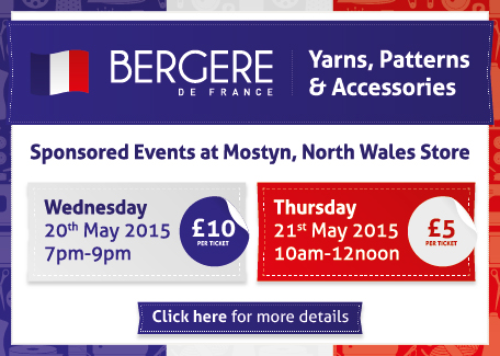 Begere de France Sponsored Events - Wednesday 20th & Thursday 21st May at Mostyn