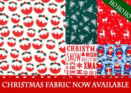 New Christmas Fabrics now available