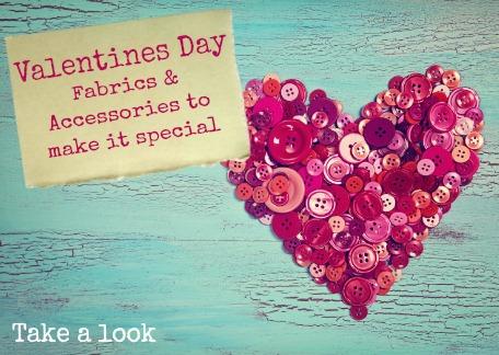 Valentines Day Fabrics & Accessories