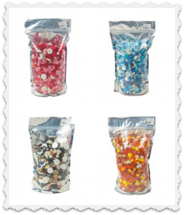 Zipper Bags of Buttons